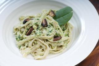 Receta Saladmaster Pasta de Arroz Integral con Pesto