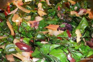 Saladmaster 316Ti Recipe Swiss Chard & Caramelized Onions