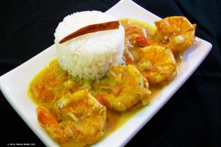 Saladmaster Recipe Shrimp Malai Curry