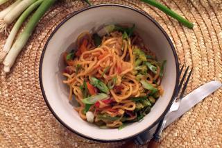 Saladmaster Recipe Yakisoba & Vegetable Stir Fry Noodles