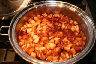 Receta de Saladmaster - Salsa de Manzana y Ciruela