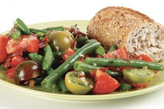 Receta Saladmaster Salteado de Tomates y Judías Verdes