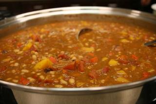 Saladmaster Healthy Solutions 316 Ti Cookware: Savory Squash and White Bean Chili