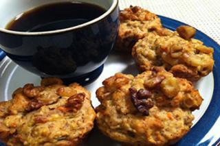 Receta Saladmaster Muffins Dulces de Verduras
