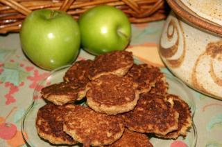 Galletas Feas de Avena y Manzana