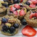 oatmeal, meal prep, breakfast, fruit,