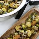 vegetable, brussels sprouts, sides, pancetta, eoc, electric skillet