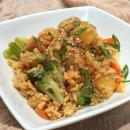 Asian teriyaki rice and chicken recipe