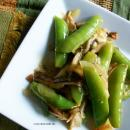 Saladmaster Recipe Lemon-Garlic Snap Peas & Mushrooms by Cathy Vogt