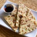 Saladmaster Recipe Scallion Flatbread by Cathy Vogt