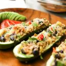 saladmaster vegetarian, zucchini, quinoa, vegetarian, black beans, saladmaster grand gourmet