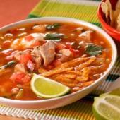 Sopa de Pollo y Lima