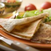 Recetas Saladmaster Quesadillas con Frijoles y Queso