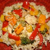 Saladmaster 316 Ti Recipe: Lime Chicken and Broccoli Stir-Fry