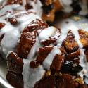 monkey bread, dessert, breakfast, cinnamon,