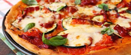 Receta Saladmaster Pizza Integral Vegetal